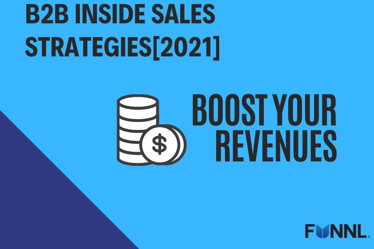 inside sales strategies 2021